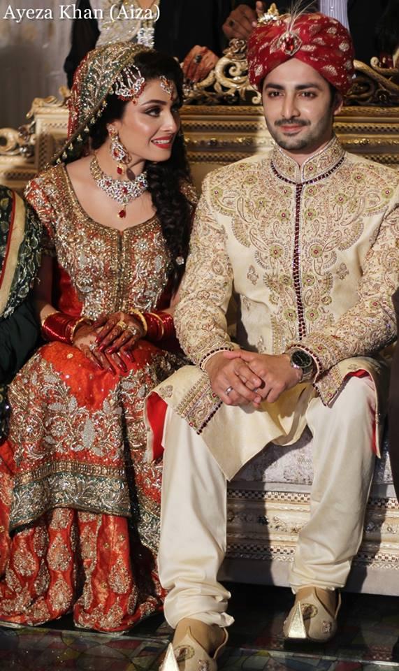 Ayeza Khan Wedding Stills 7 Zeenat Style