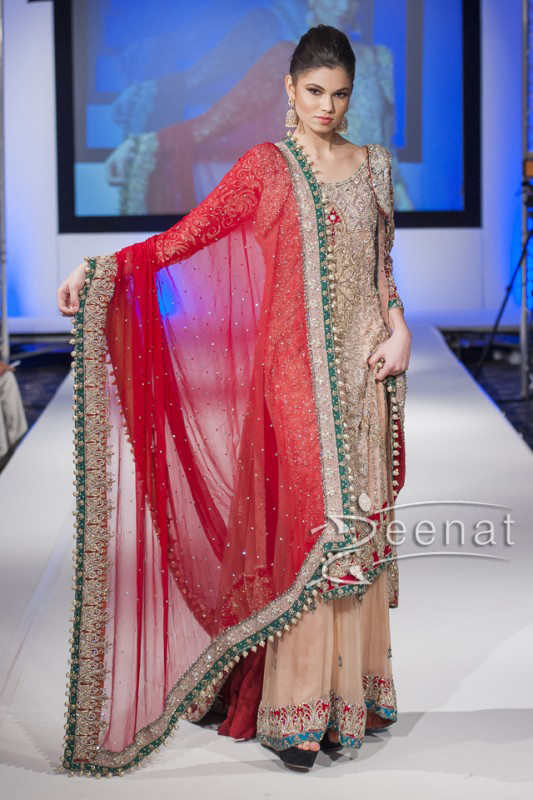 Sahzia-Kiyani-New-Collection-In-Pakistan-Fashion-Show-London-2014-For-Girls-4