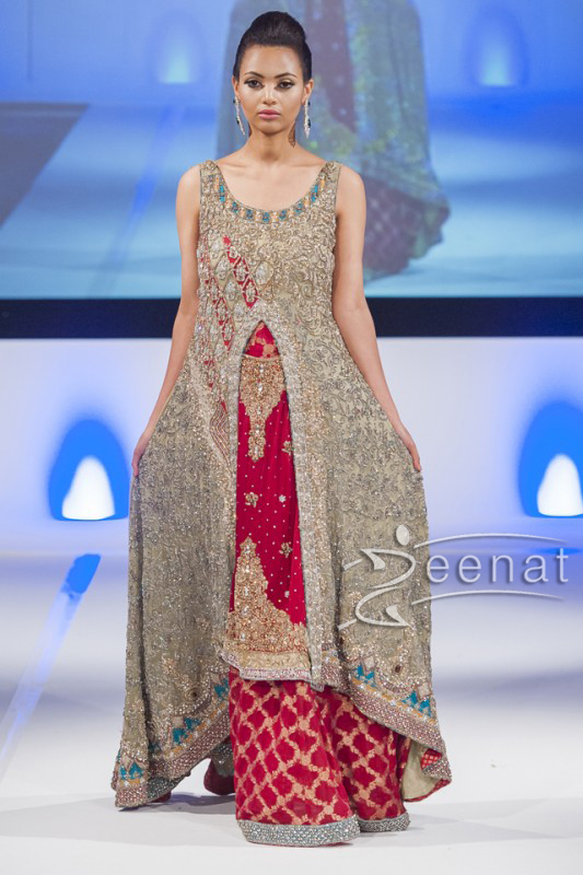 Sahzia-Kiyani-New-Collection-In-Pakistan-Fashion-Show-London-2014-For-Girls-5