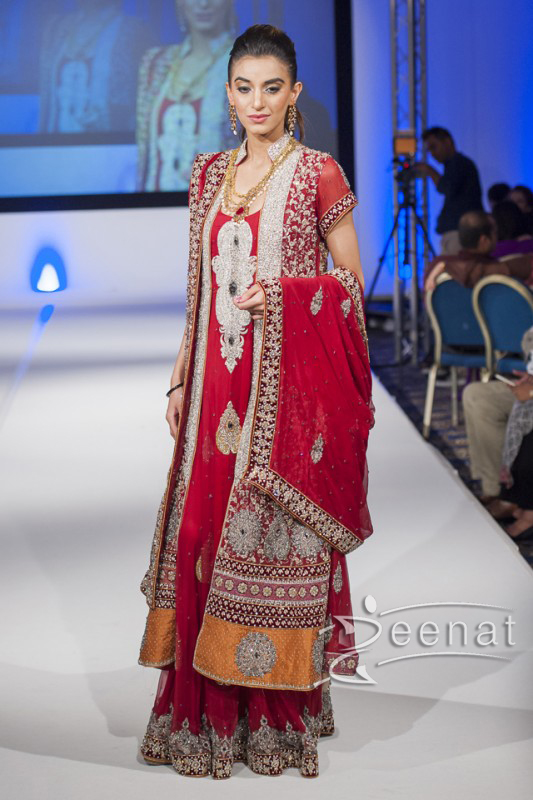 Sahzia-Kiyani-New-Collection-In-Pakistan-Fashion-Show-London-2014-For-Girls-7
