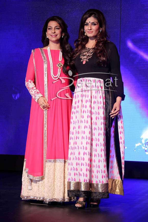 Juhi-Chawla-Raveena-Tandon-Launch-New-Channel-Sony-Pal