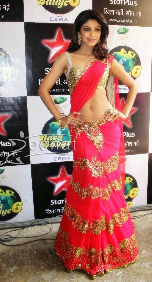 Shilpa-shetty-Manish-malhotra-lehenga-saree-Nach-Baliye-6