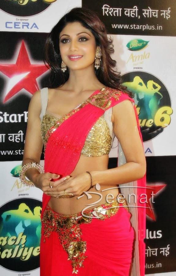 Shilpa-shetty-lehenga-saree-Nach-baliye-6-finale