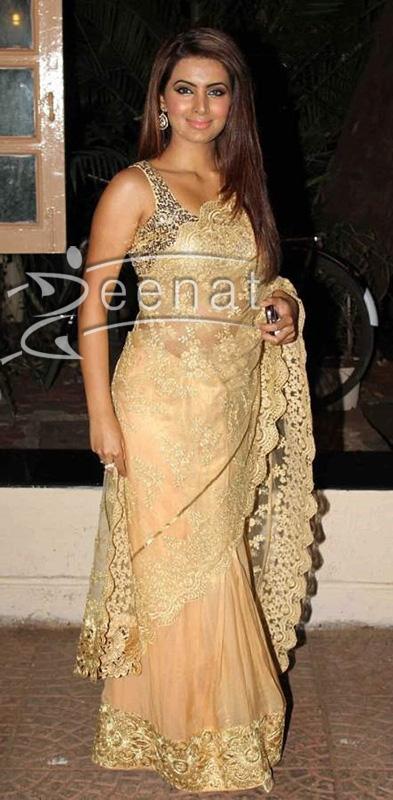 Geeta-Basra-at-Ekta-Kapoor-Diwali-Party