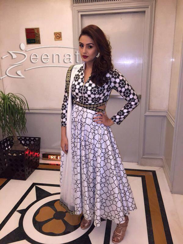Huma Qureshi in SVA Anarkali Suit | Zeenat Style