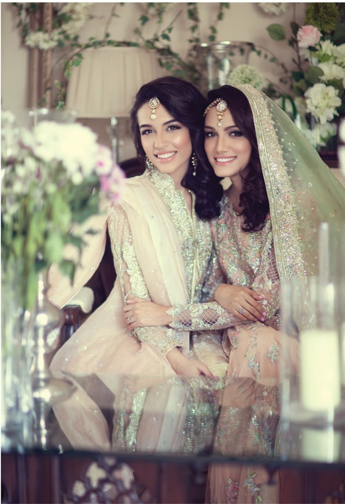Farah Talib Aziz SS 15 Campaign featuring Meera Ansari and Sana Ansari (2)