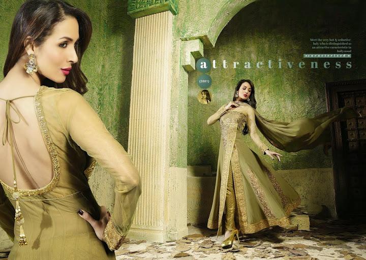 Malaika Arora Khan Bollywood Salwar Kameez (2)