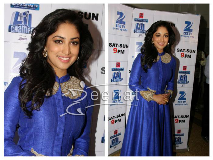 Yami-Gautam-at-Badlapur-Promotions-on-the-sets-of-Lil-Champs (1)