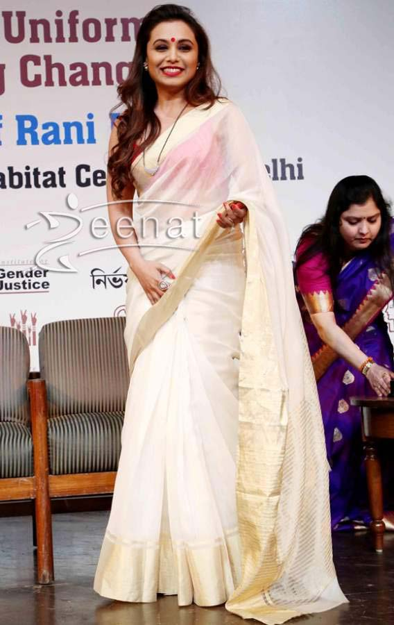 Get-the-look-–-Rani-Mukherjee-white-and-gold-saree