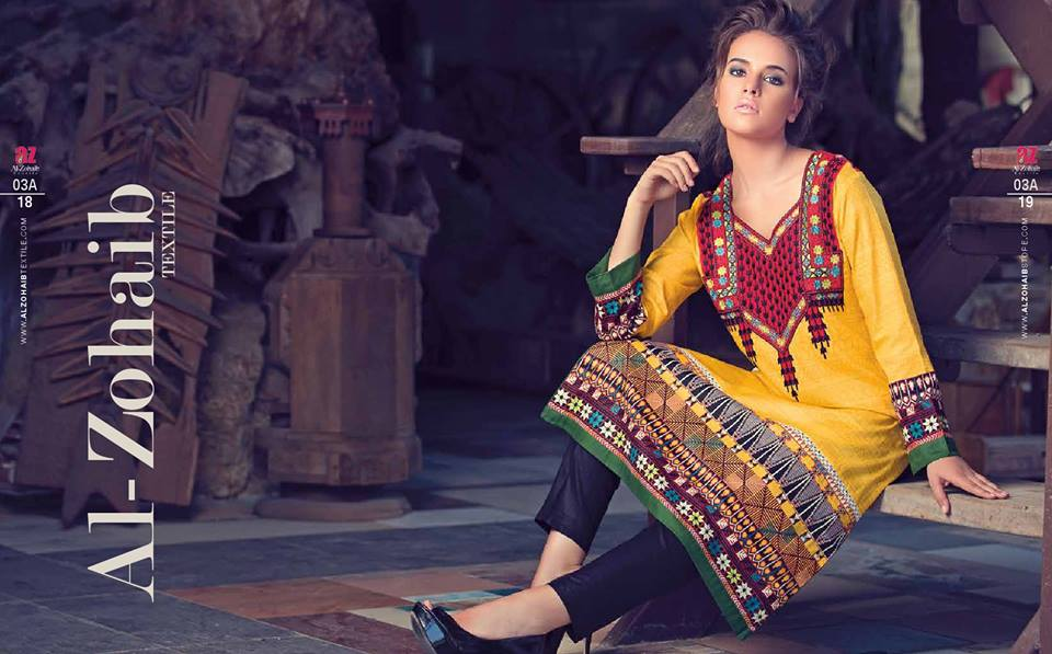 Zanisha kurti collection by al