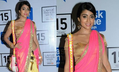 Shriya Saran At Lakme Fashion Week (1)
