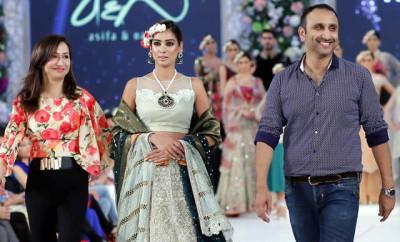 Asifa Nabeel Collection at PFDC Loreal Paris Bridal Week 2015 (15)