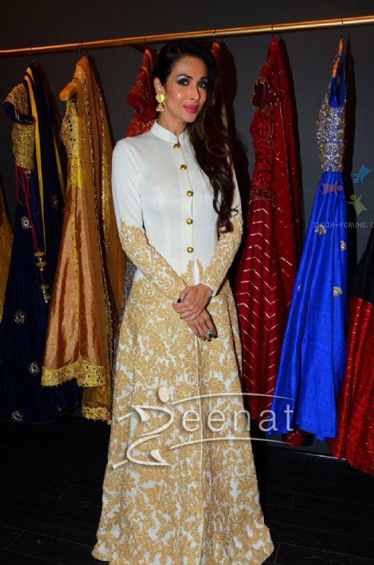 Malaika Arora Khan at the launch of Mayyur Girotra Shop