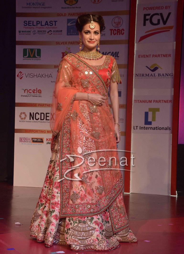 Mohit Goyal of Poshaak at Globoil Awards