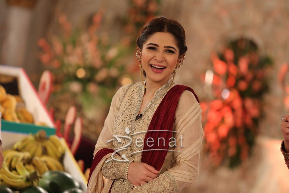 Ayesha-Omer-In-Shehla-Chatoor-Good-Morning-Pakistan ...
