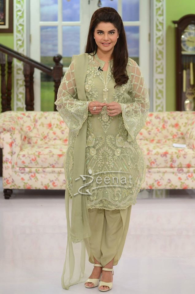 Nida Yasir Dress Designer Name