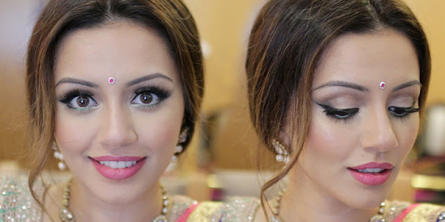 Festive Makeup Tutorial - Get Ready with Us   Zeenat Style