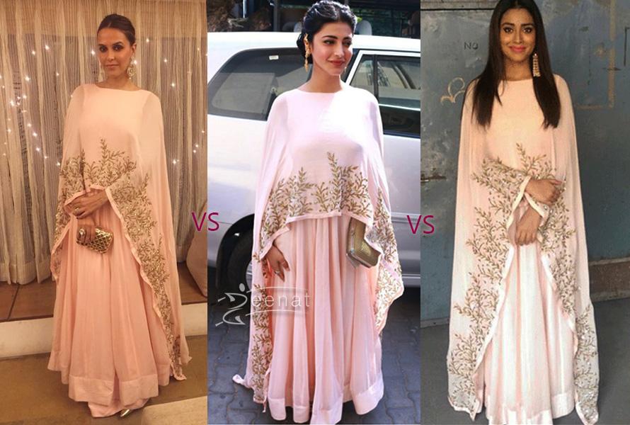 Prathyusha Garimella Dresses on Shriya Saran, Shruti Hasan, Neha Dhupia