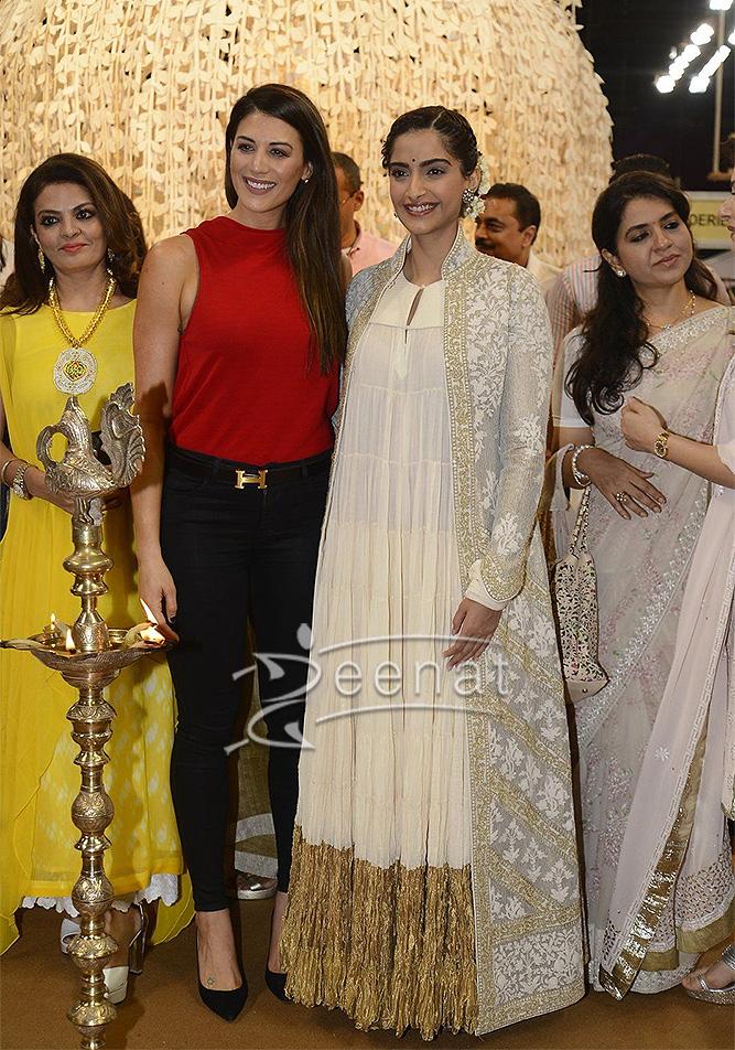 Sonam Kapoor In Rohit Bal