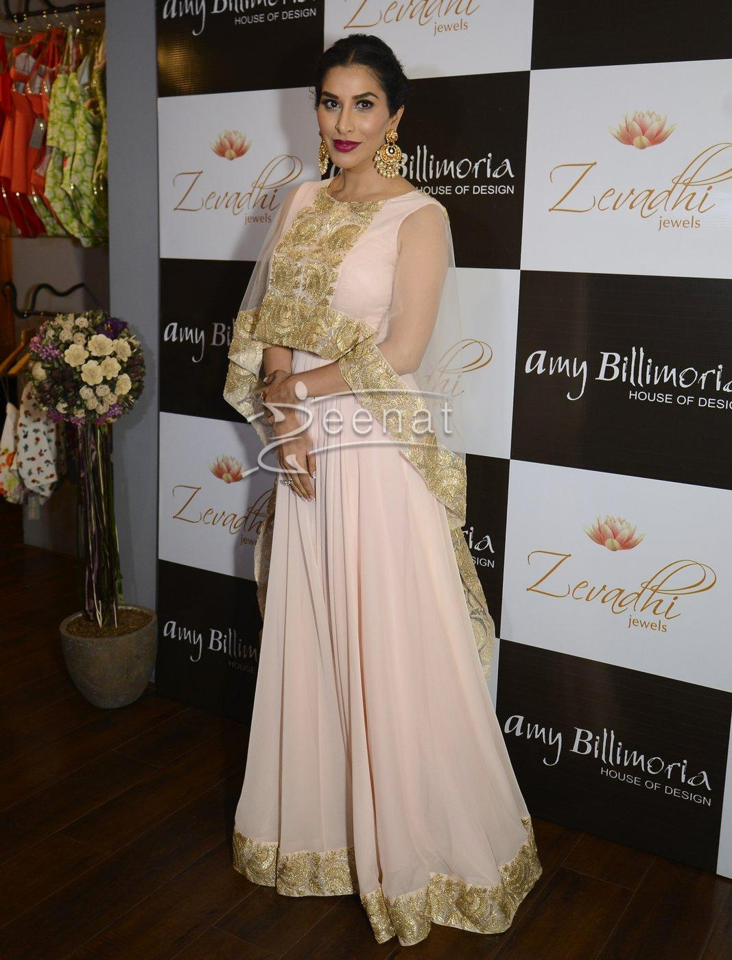 Sophie Choudry in Amy Billimoria dress 1