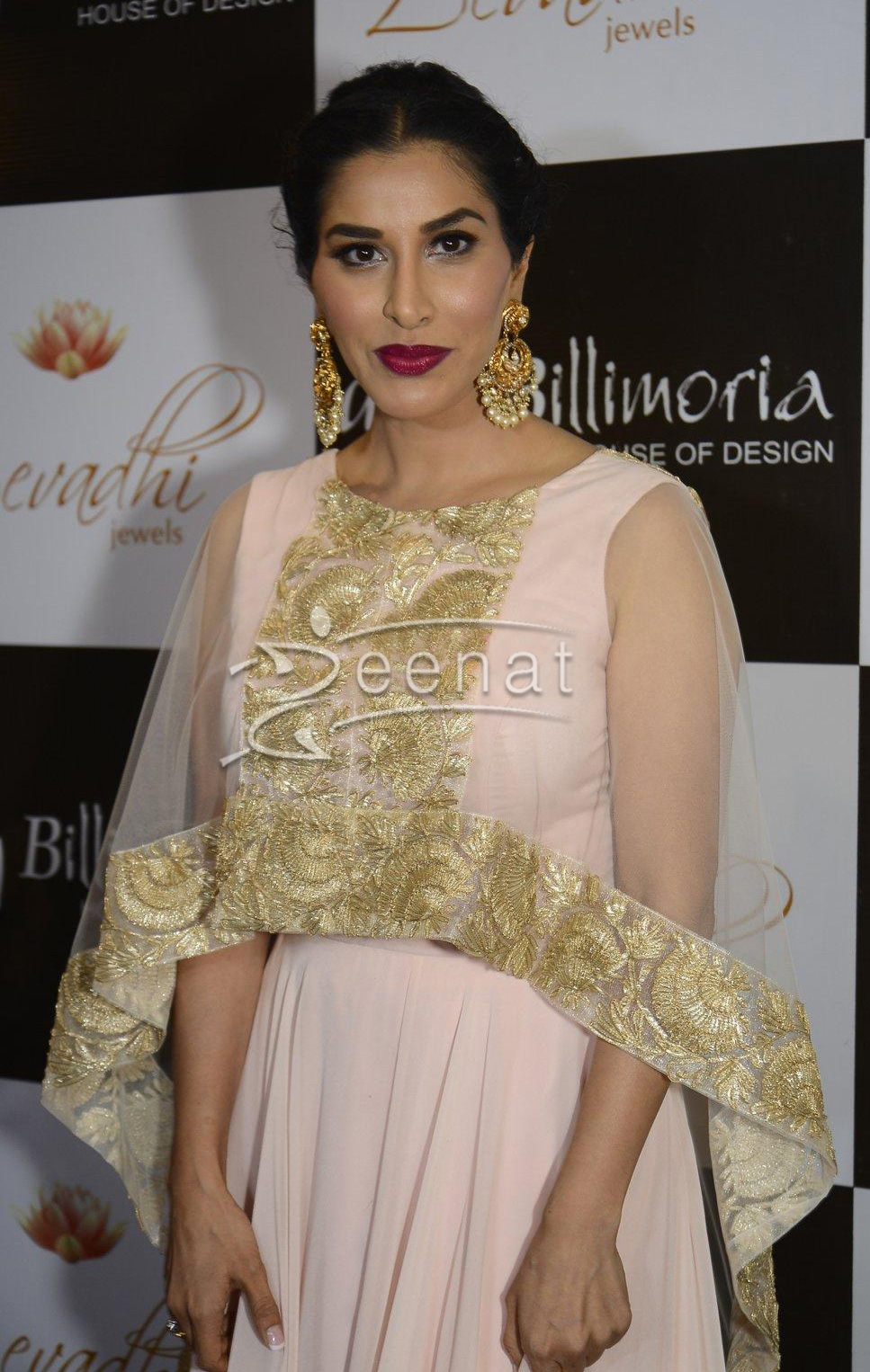 Sophie Choudry in Amy Billimoria dress