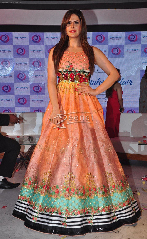 Zarine Khan In Archana Kochhar Frock