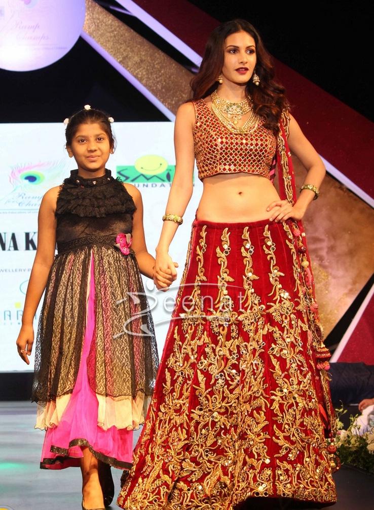 Amyra Dastur In Archana Kochhar at Ramp For Champ