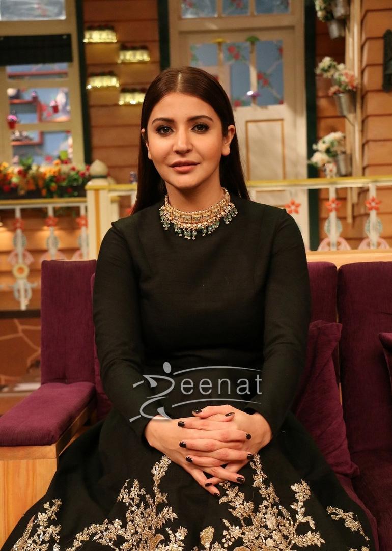 Anushka Sharma In Sabyasachi For Ae Dil Hai Mushkil Promotions