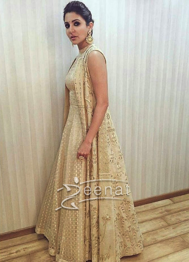 be4ad9b5fad ... Anushka Sharma In Anita Dongre For Ae Dil Hai Mushkil Promotions