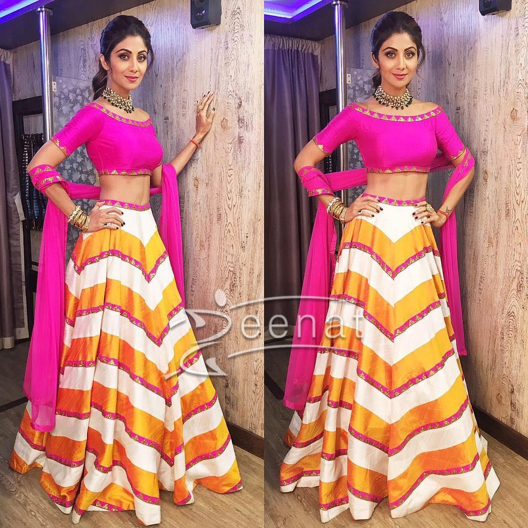 Shilpa Shetty For Super Dancer Diwali Show