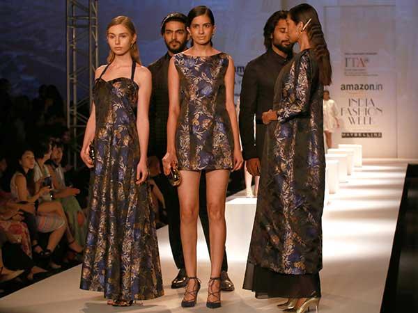 Italian Fashion Show at Amazon India Fashion Week 2017 | Day 1