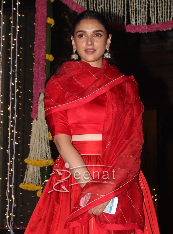 Aditi Rao Hydari at Amir Khan's Diwali Party 2016