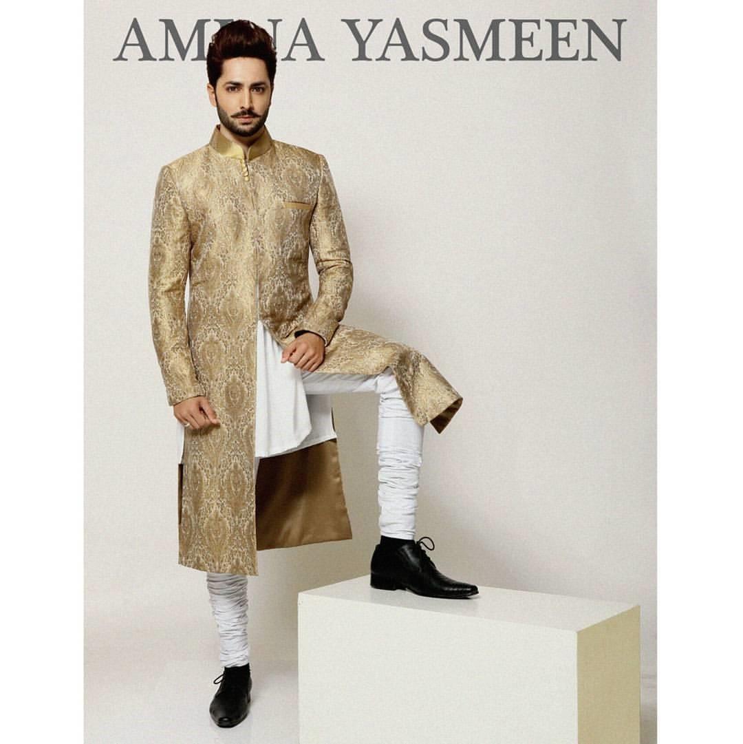 Ayeza Khan and Danish Taimoor for Amina Yasmeen