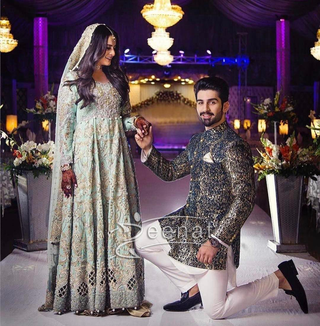 Aiman Muneeb's Engagement Pictures