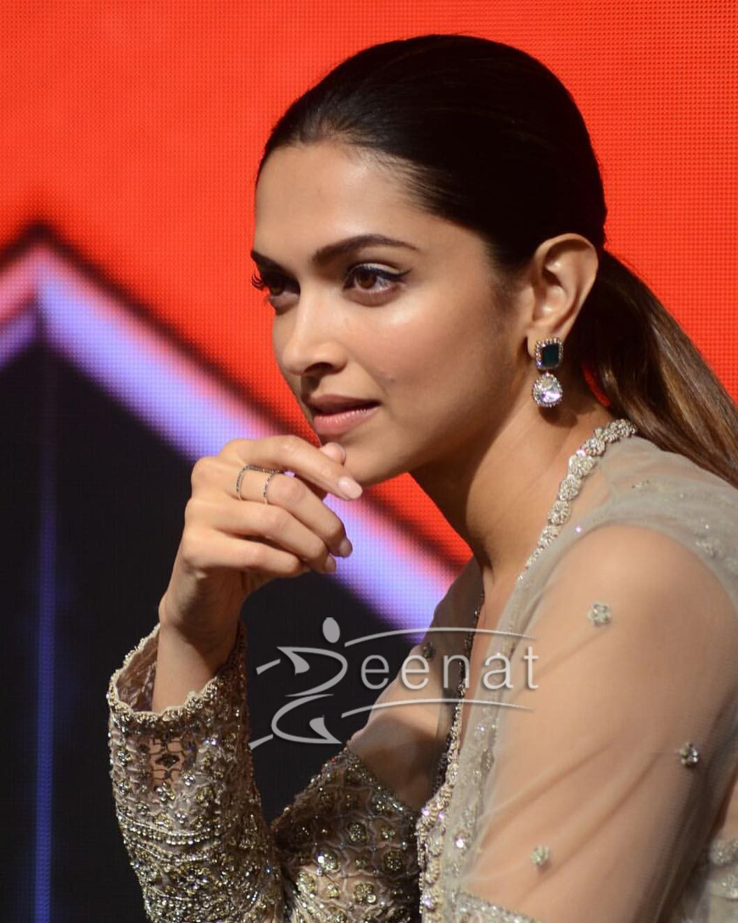 Deepika Padukon in Sabyasachi For xXx: Return of Xander Cage Presscon