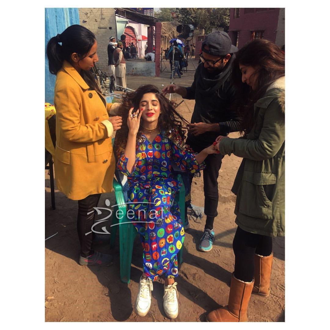 Urwa Hocane and Mawra Hocane BTS of My Rang Ja Campaign