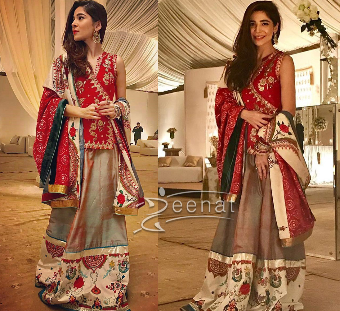 Ayesha Omar in Rano Sheirlooms Official Lehenga Choli