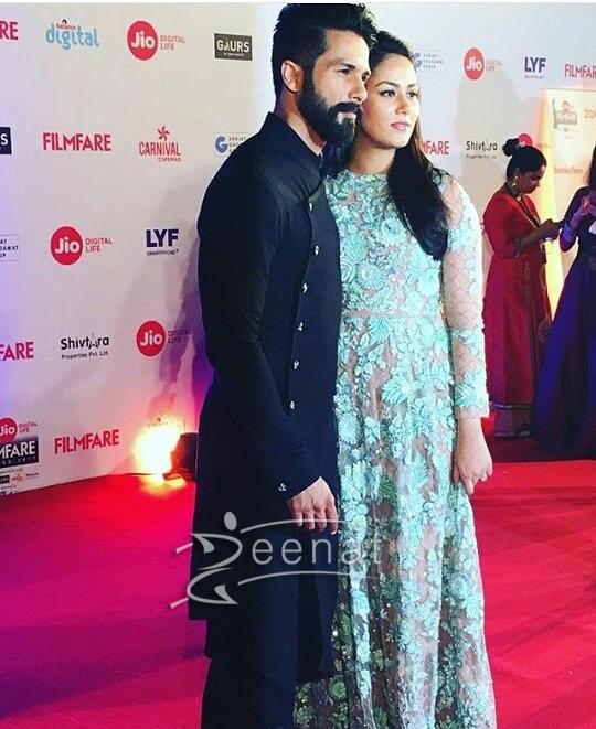 Shahid Kapoor In Shantanu Nikhil Suit FilmFare 2017