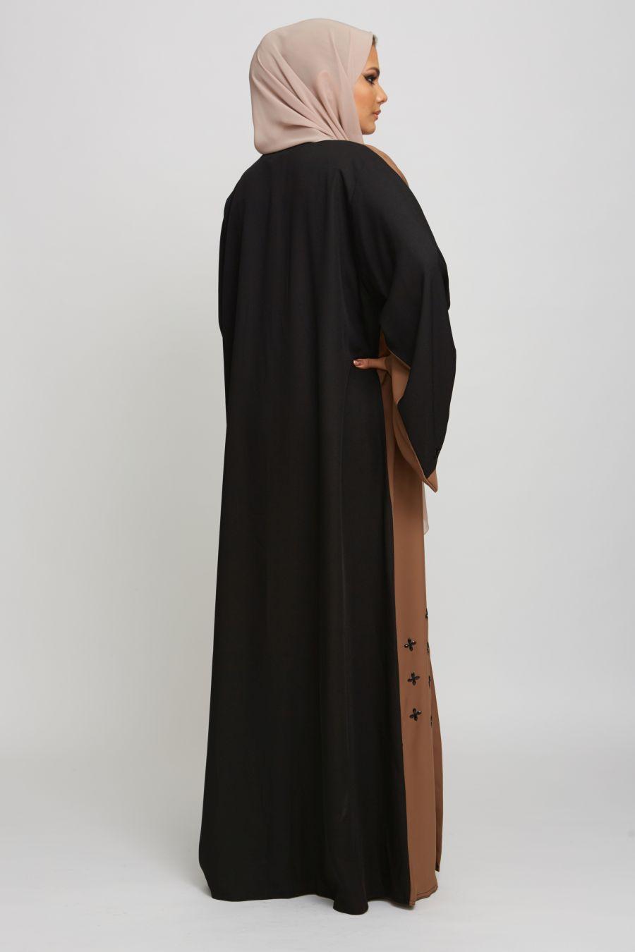Open Jacket Abaya Style2
