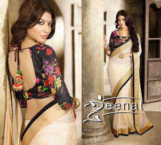 printed-saree-blouse