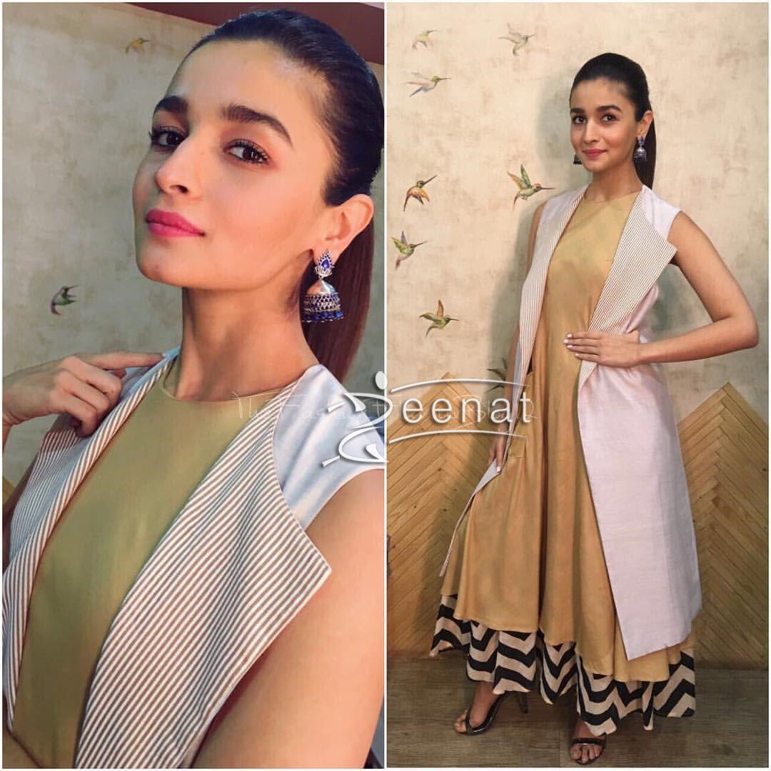 Alia Bhatt promoting Badrinath ki Dulhania