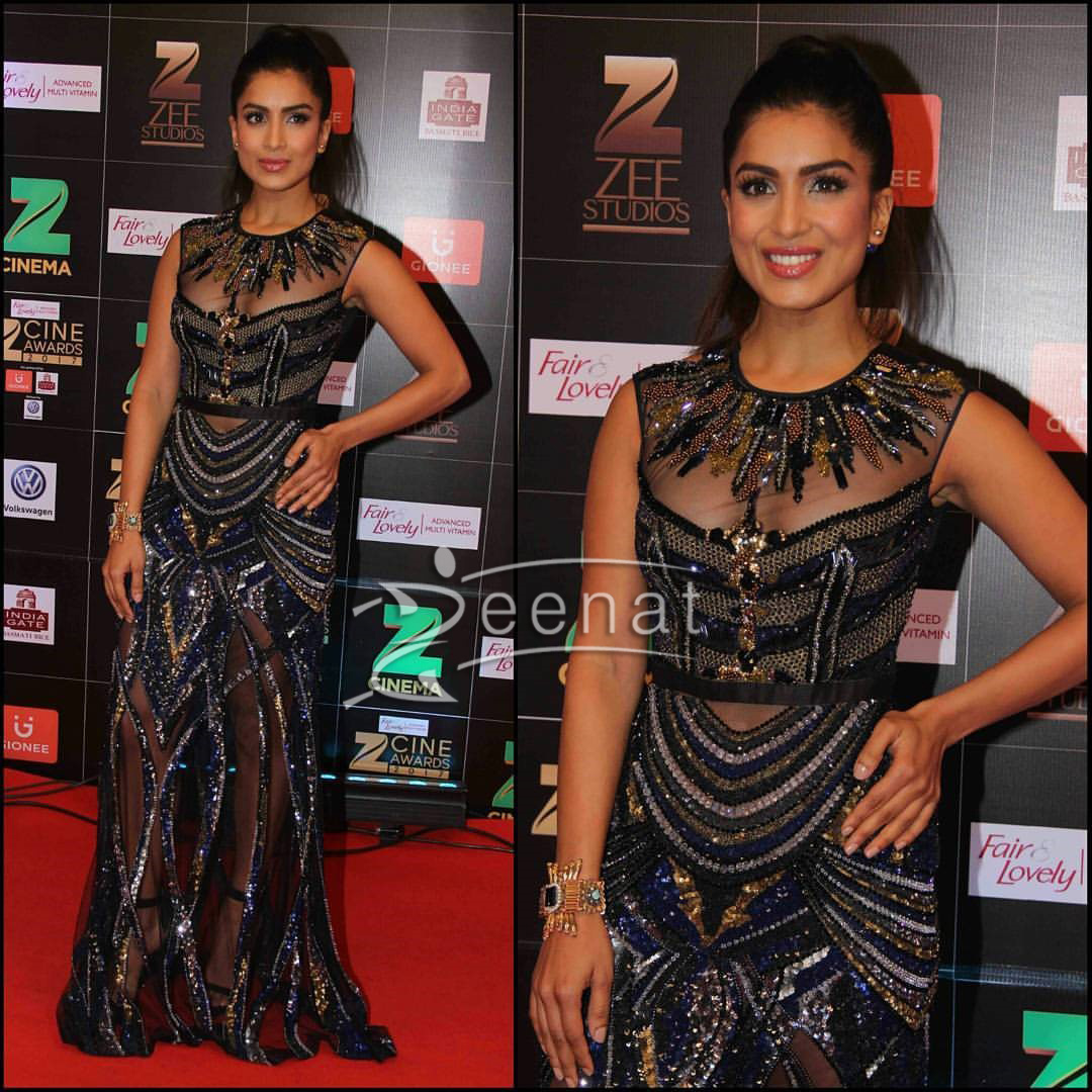 Pallavi Sharda in Gavin Muguel Couture at Zee Cine Awards 2017
