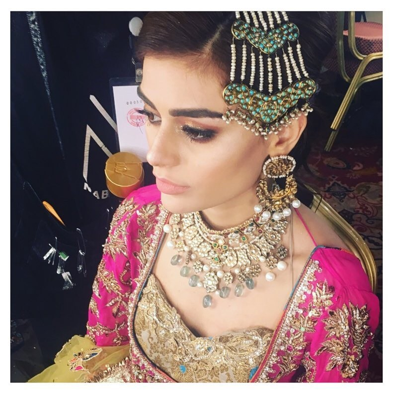 Bridal Makeup and Bridal Jewellery from #QHBCW17 (15)