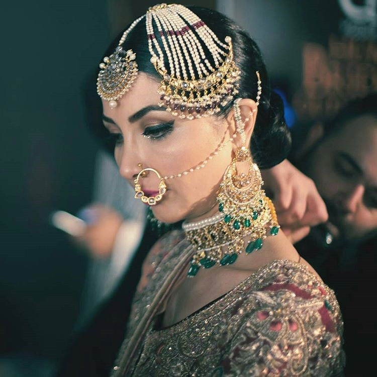 Bridal Makeup and Bridal Jewellery from #QHBCW17 (8)
