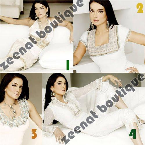 Amna Haq In Elegant White Dresses