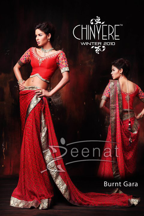 Chinyere Boutique Sarees on Neha Ahmed