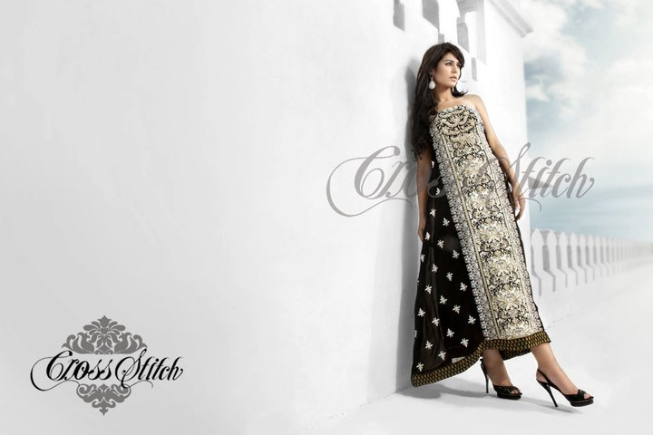 Designer Frocks By Cross Stich Summer Collection 2011 | Ayyan