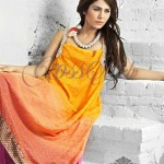 Latest Fashion Frocks By Cross Stich Summer Collection 2011