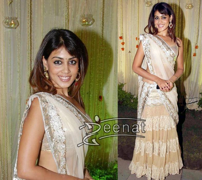 Genelia Indian Designer Lehenga Choli