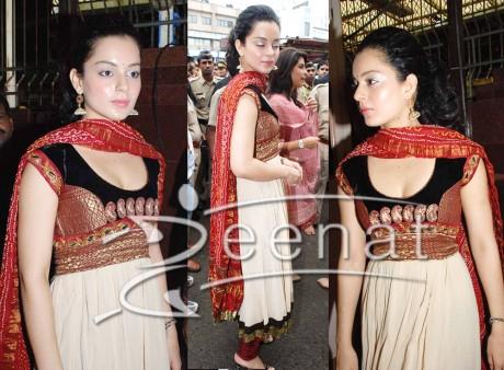 Kangana Ranaut Anarkali Style